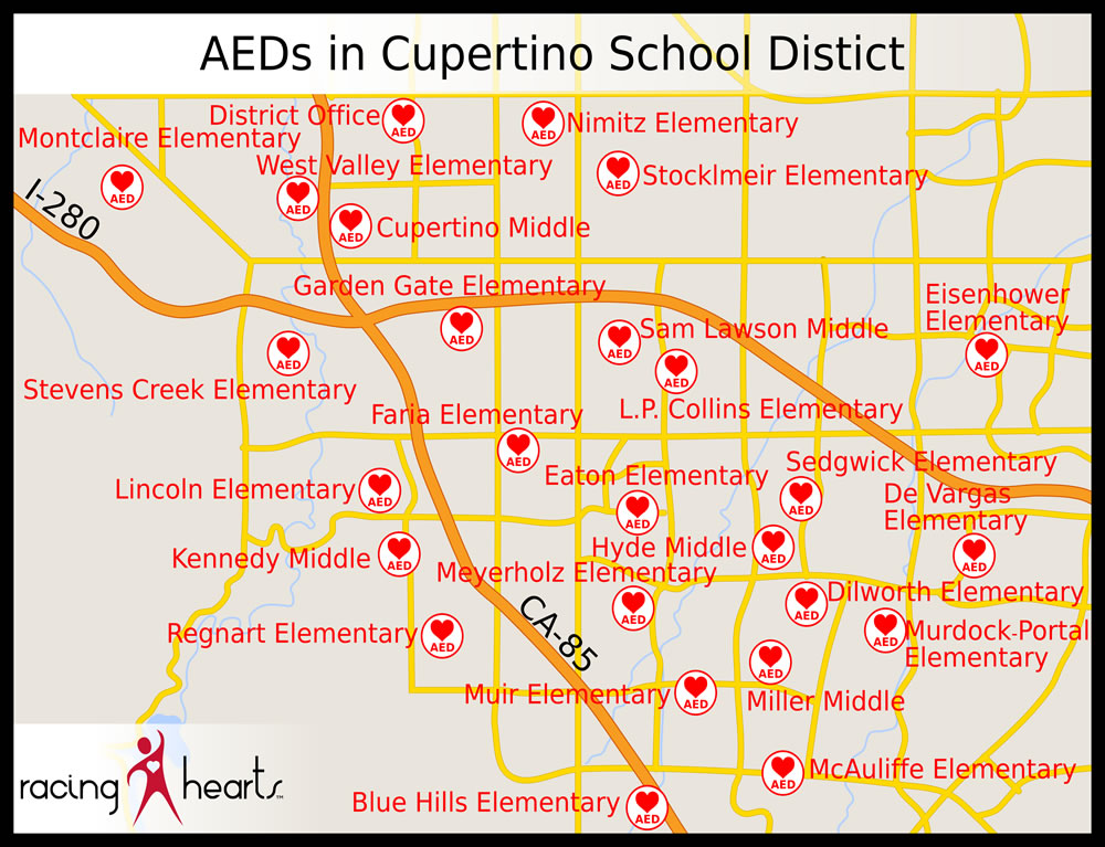 Cupertino Map